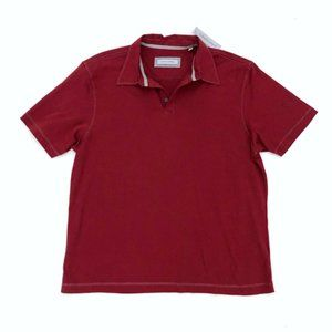 JAMES CAMPBELL Men's Red Wine Polo Shirt XL NEW